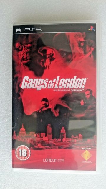 Gangs Of London (Sony PSP, 2006)